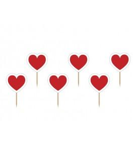 Smeigtukai - širdelės