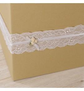 Dėžė svečių vokeliams Craft