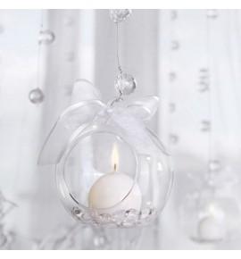 Stiklo burbulas - žvakidė