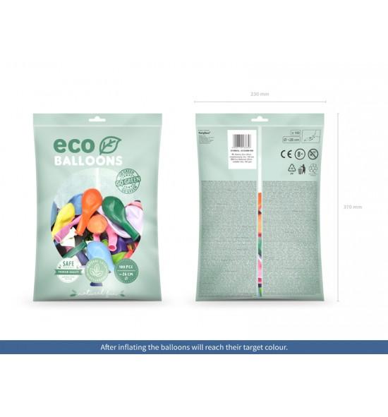 Ekologiški balionai 26 cm. (100 vnt.)