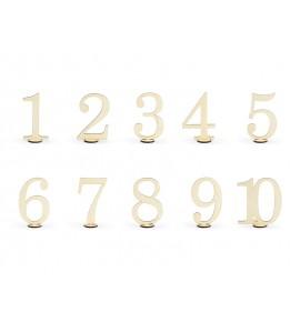 Mediniai stalo numeriai