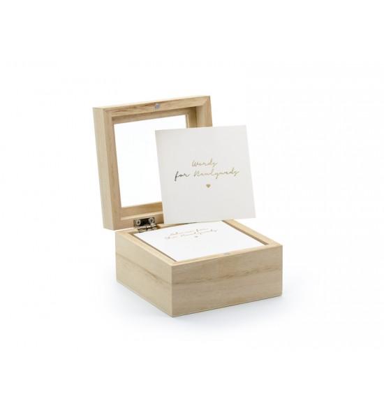 Dėžutė - patarimai Jaunavedžiams