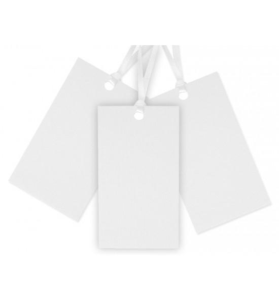 Baltos etiketės