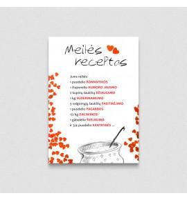 Meilės receptas